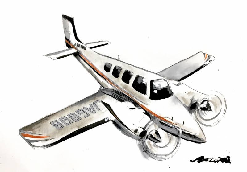 訓練機 G58(バロン)