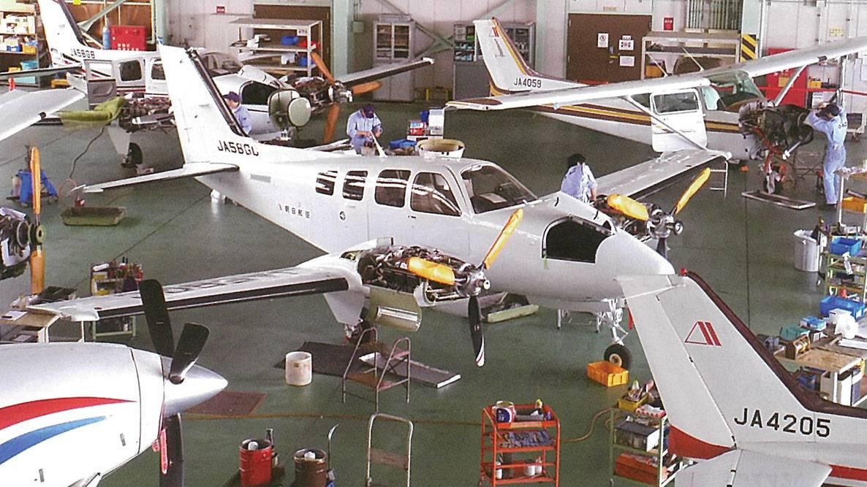 固定翼航空機「航空整備士・整備スタッフ」募集中